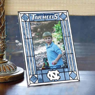North Carolina Portrait Art Glass Picture Frame