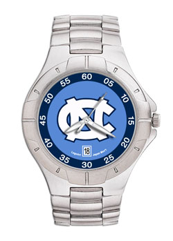 North Carolina Pro II Men's Stainless Steel Watch