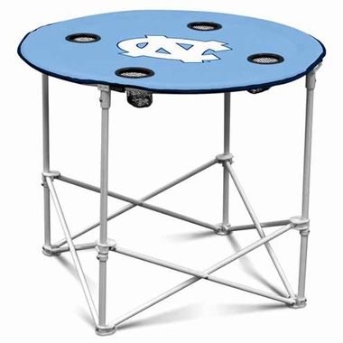North Carolina Round Tailgate Table