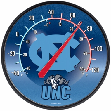 North Carolina Round Wall Thermometer