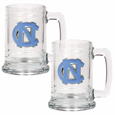 North Carolina Set of 2 15 oz. Tankards