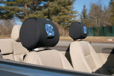 North Carolina Set of 2 Headrest Covers
