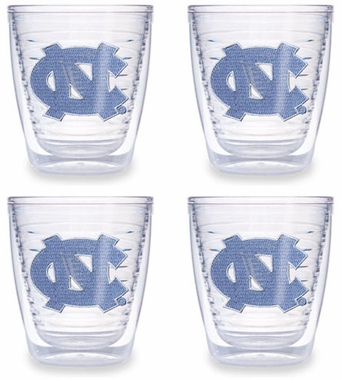 North Carolina Set of FOUR 12 oz. Tervis Tumblers