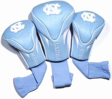 North Carolina Set of Three Contour Headcovers
