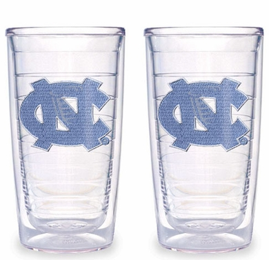 North Carolina Set of TWO 16 oz. Tervis Tumblers