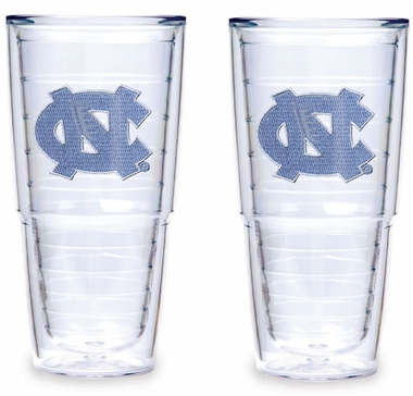 North Carolina Set of TWO 24 oz. Tervis Tumblers