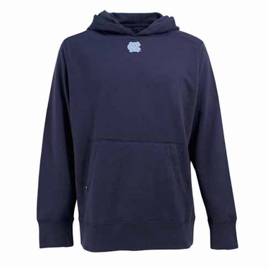 North Carolina Mens Signature Hooded Sweatshirt (Alternate Color: Navy)