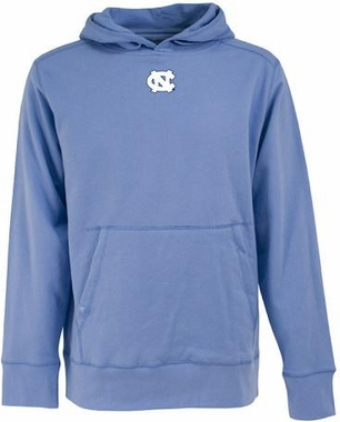 North Carolina Mens Signature Hooded Sweatshirt (Team Color: Aqua)