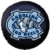 North Carolina Spare Tire Cover (Small Size)