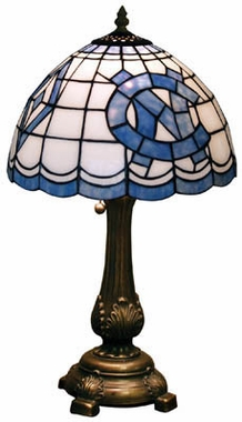 North Carolina Stained Glass Table Lamp