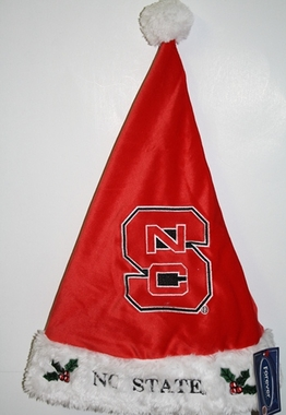 North Carolina State Wolfpack 2012 Team Logo Plush Santa Hat