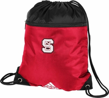 North Carolina State Wolfpack Adidas Gym Sack Drawstring Backpack