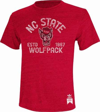 North Carolina State Wolfpack Established Mascot Premium Tri-Blend T-Shirt