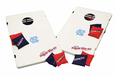 North Carolina Tailgate Toss 2.0 Cornhole Beanbag Game