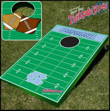 North Carolina Tailgate Toss Cornhole Beanbag Game