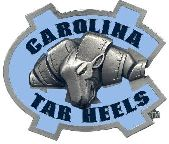 North Carolina Tar Heels Hitch Cover Class 3