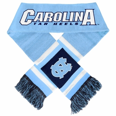 North Carolina Tarheels 2012 Team Stripe Knit Scarf