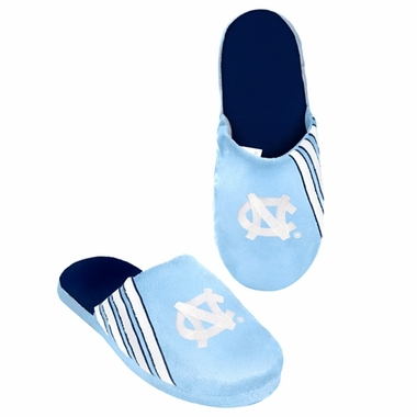 North Carolina Tarheels 2012 Team Stripe Logo Slippers