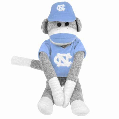 North Carolina Tarheels 2013 27 Uniform Sock Monkey