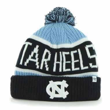 North Carolina Tarheels 47 Brand NCAA Calgary Cuffed Knit Hat