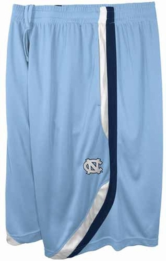 North Carolina Tarheels Clean the Glass Performance Shorts - Light Blue