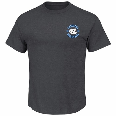 "North Carolina Tarheels Majestic NCAA ""Without Delay"" T-Shirt - Charcoal"