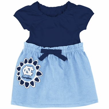 North Carolina Tarheels NCAA Infant Girls Daisy Dress
