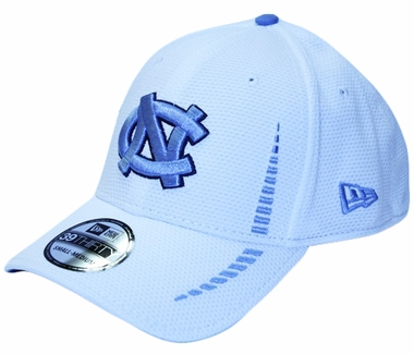 North Carolina Tarheels New Era 39THIRTY Training Flex Fit Hat - White