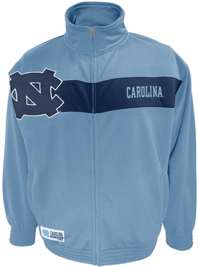 North Carolina Victory March Full Zip Colorblocked Track Jacket