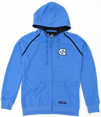 North Carolina Women's Full Zip Performance Hooded Sweatshirt