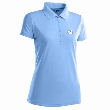 North Carolina Womens Pique Xtra Lite Polo Shirt (Team Color: Aqua)