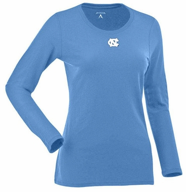 North Carolina Womens Relax Long Sleeve Tee (Team Color: Aqua)