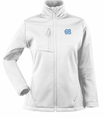 North Carolina Womens Traverse Jacket (Color: White)