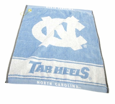 North Carolina Woven Golf Towel