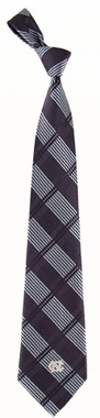 North Carolina Woven Plaid Necktie