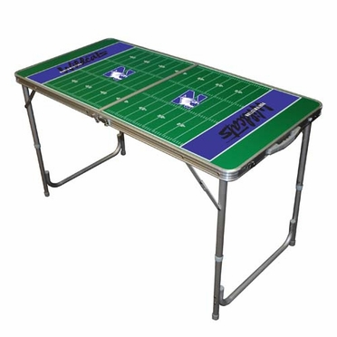 Northwestern 2 x 4 Foot Tailgate Table