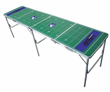 Northwestern 2x8 Tailgate Table