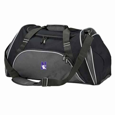 Northwestern Action Duffle (Color: Black)