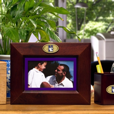Northwestern BLACK Landscape Picture Frame