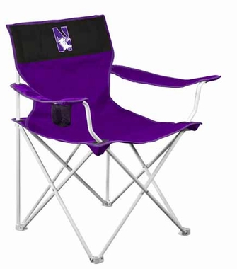 Northwestern Canvas Adult Folding Logo Chair