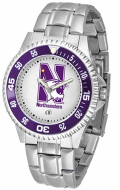 Northwestern Competitor Men's Steel Band Watch