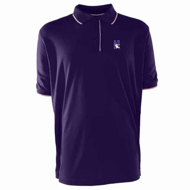 Northwestern Mens Elite Polo Shirt (Team Color: Purple)