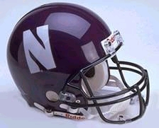 Northwestern Full Sized Replica Helmet