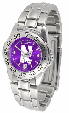 Northwestern Sport Anonized Women's Steel Band Watch