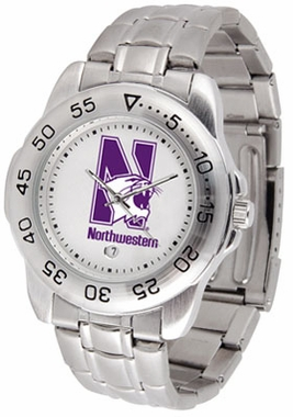 Northwestern Sport Men's Steel Band Watch
