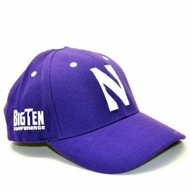 Northwestern Triple Conference Adjustable Hat