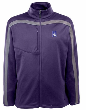 Northwestern Mens Viper Full Zip Performance Jacket (Team Color: Purple)