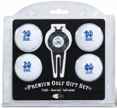 Notre Dame 4 Ball and Tool Gift Set