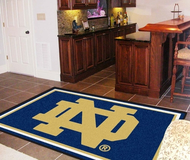 Notre Dame 5 Foot x 8 Foot Rug