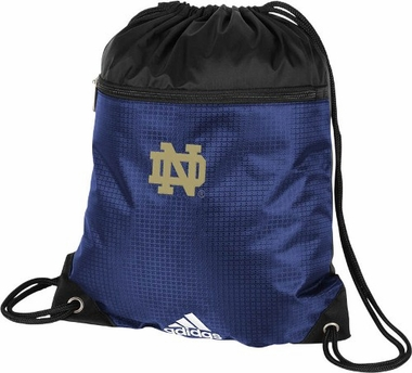 Notre Dame Adidas Drawstring Backpack
